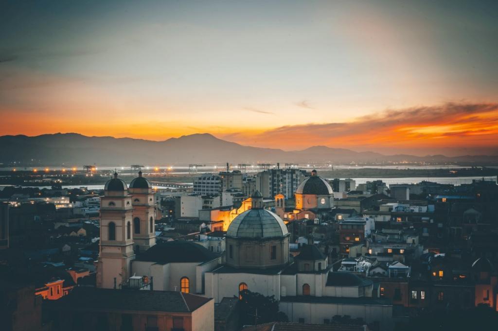 Cagliari Sunset