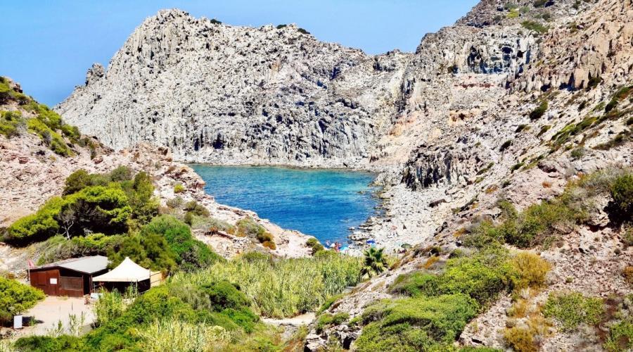 San Pietro Island and its wonderful cliffs